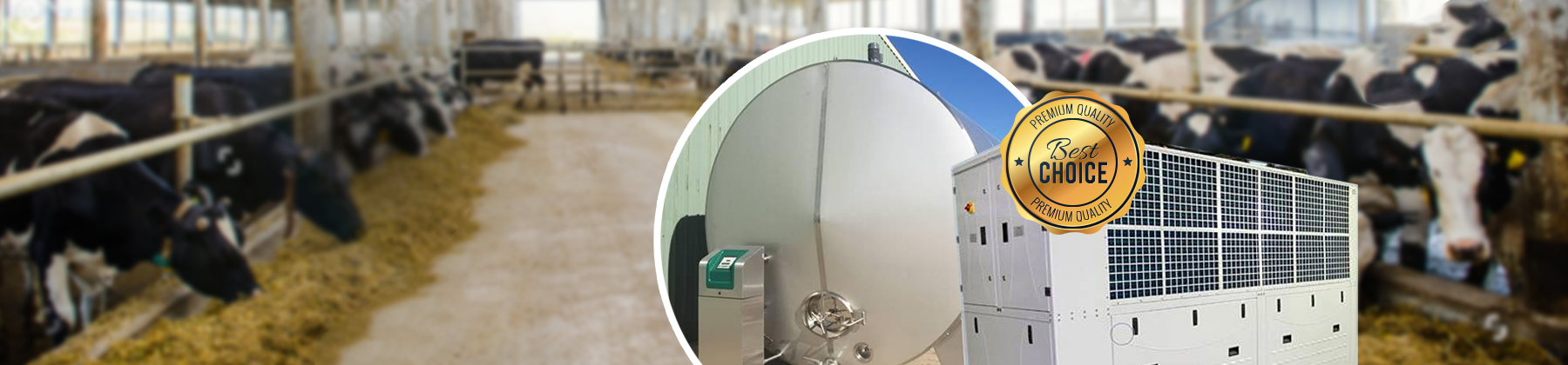 Specialized in Chillers & Milk Vats